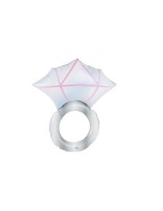 bague en diamant gonflable argent 50 cm | Accessoires