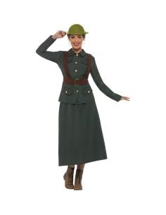Déguisement femme garde militaire Seconde Guerre mondiale   Déguisement