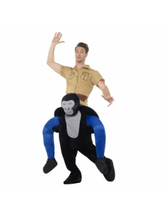 Costume piggyback porté par un gorille | Déguisement