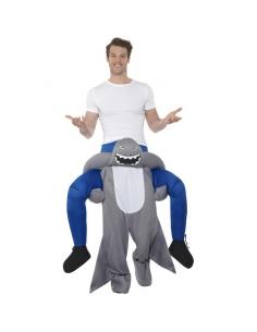 Costume piggyback porté par un requin | Déguisement