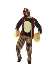 Combinaison adulte singe avec cymbales | Déguisement