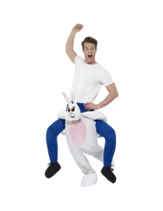 Costume Piggyback lapin blanc | Déguisement