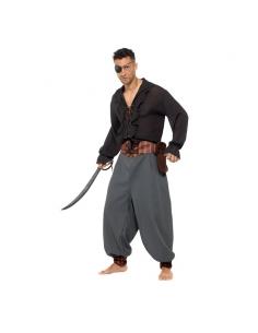 Pantalon de pirate adulte | Déguisement