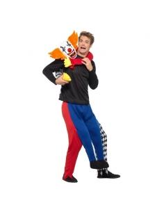 Déguisement adulte piggyback kidnappé par un clown | Déguisement Homme