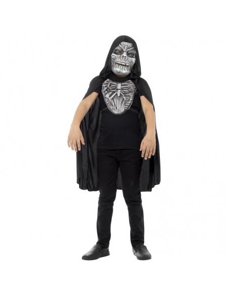 """Kit enfant """"la mort"""" avec Masque et Plastron   Déguisement Enfant"""