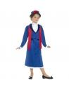 Costume nounou anglaise enfant | Déguisement Enfant