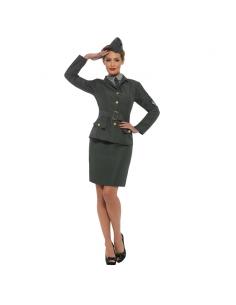 Déguisement femme militaire deuxième guerre mondiale | Déguisement