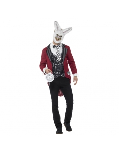 Costume adulte lapin blanc halloween | Déguisement