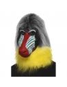 Masque adulte tête de babouin | Accessoires