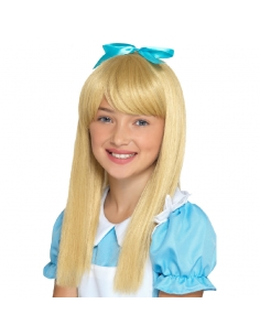 Perruque enfant Alice au pays des merveilles   Accessoires