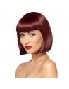 Perruque adulte coupe carré avec frange | Accessoires