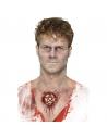 Masque zombie marron en mousse latex   Accessoires