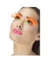 Faux cils orange à poids   Accessoires
