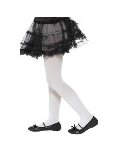 Collants enfant opaques blancs | Accessoires