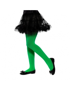 Collants enfant opaques verts | Accessoires