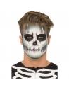Kit maquillage squelette phosphorescent 3 couleurs | Accessoires