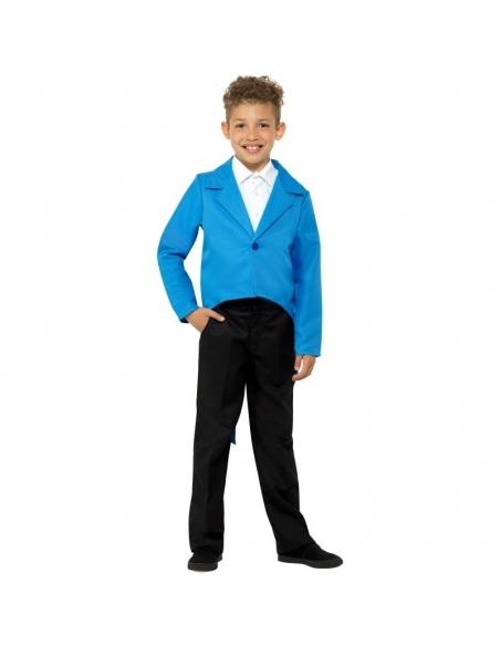 Veste enfant queue-de-pie bleu | Déguisement Enfant