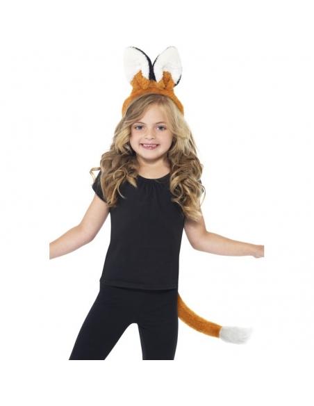Kit de renard-oreilles + queue   Animaux