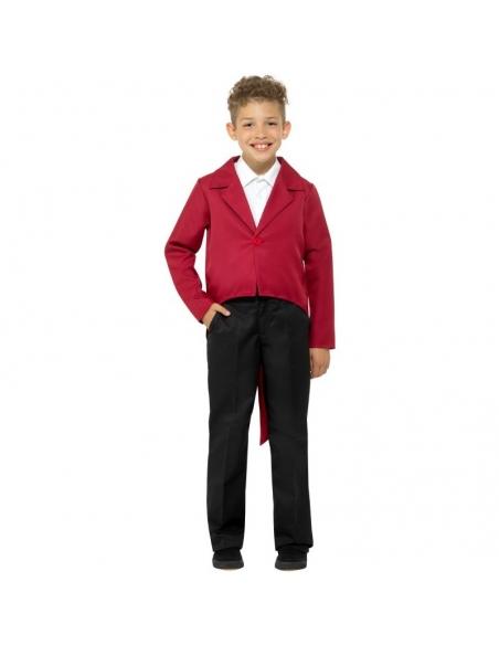 Veste enfant queue-de-pie rouge | Déguisement Enfant