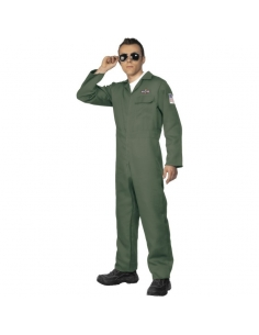 Déguisement aviateur vert | Déguisement Homme