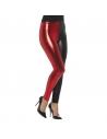 Legging noir et rouge années 80 | Accessoires