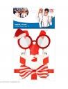 Set NOEL (lunettes, bretelles, noeud papillon)