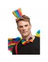 Mini Chapeau - serre tête multicolore Gay Pride