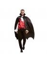 Déguisement Cape Noire Chauve Souris Vampire Homme (cape)