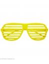 Lunettes à obsturateur jaune fluo