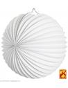 Globe blanc Ø 25 cm - retardateur de flamme