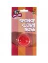 Nez clown rouge mousse | Accessoires