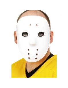 Masque hockeyeur blanc pvc | Accessoires