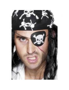 Poche-oeil pirate avec tête de mort | Accessoires