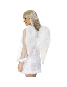 Maxi ailes ange plumes blanches | Accessoires