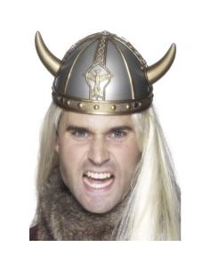 Casque viking or et argent | Accessoires