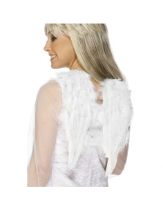 Ailes ange blanches à plumes | Accessoires