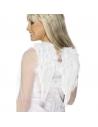 Ailes ange blanches à plumes   Accessoires