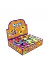 Pack 12 excréments gluants dans boîte forme toilette | Accessoires