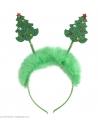 Serre -Tête Sapin de Noël Vert