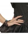 Bracelet et bague gothiques tout en un