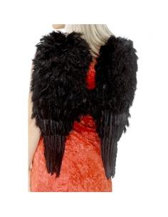 Maxi ailes ange plume noir | Accessoires