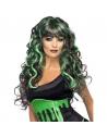 Perruque sirène vert et violet | Accessoires