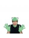 Capuche grenouille avec gants | Accessoires