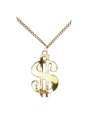 Collier dollar or | Accessoires