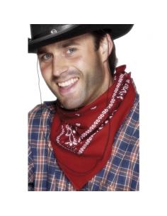 Bandana rouge western | Accessoires