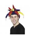 Chapeau bouffon rouge jaune bleu | Accessoires