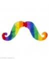 Moustache multicolore