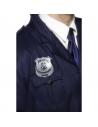 Badge de police métal argente | Accessoires