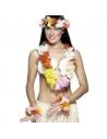 Collier hawaïen fleurs multicolores | Accessoires