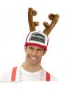 Casquette avec cornes de Rodolphe le Renne du Père Noël
